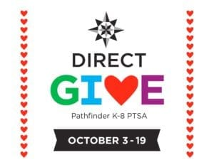 Pathfinder Direct Give - October 3-19, 2018